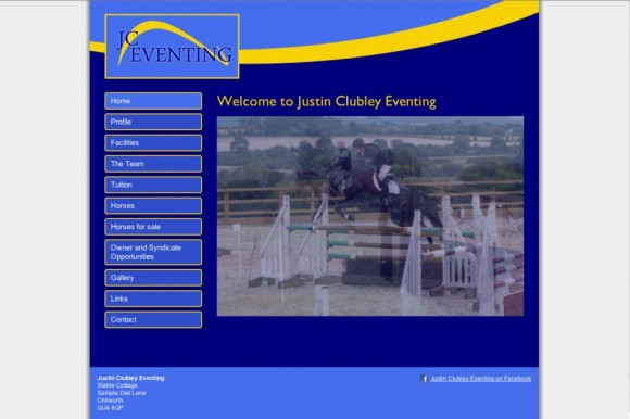 Justin Clubley Eventing