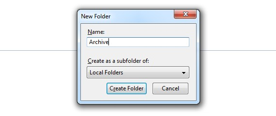 Archiving emails in Mozilla Thunderbird | PagePlay