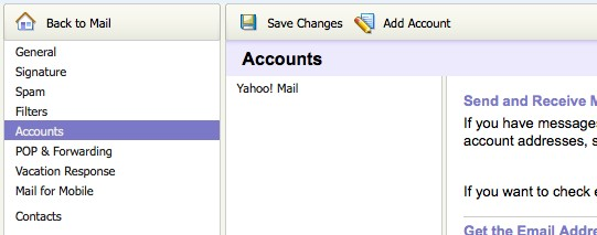 Set up email in Yahoo Mail | PagePlay