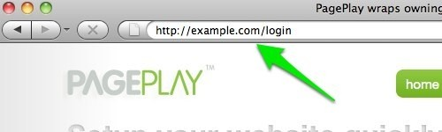 browser url for pageplay login