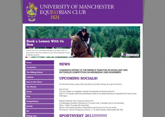 University of Manchester Equestrian Club